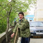 Участники субботника 12 апреля 2014 г.