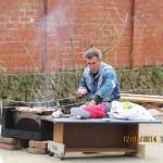 Готовка шашлыка (Субботник 12 апреля 2014 г.)