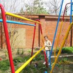Покраска детской площадки (Субботник 12 апреля 2014 г.)